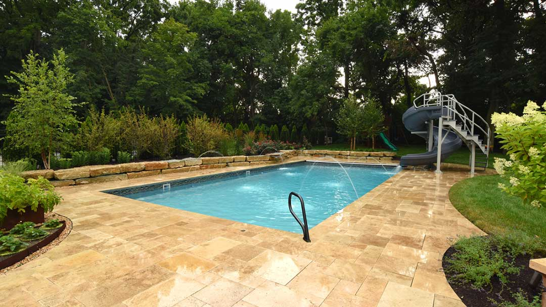 Bauman backyard After Swimming Pool Featured Projects Landscape Architecture Design The SiteGroup