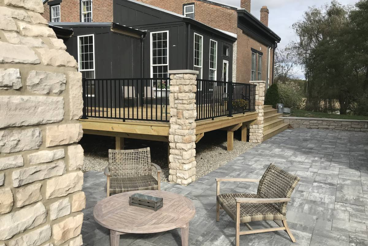 landscape design architecture the site group dayton oh solutions entertaining area